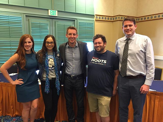 Thank you Jason Kander for coming to speak about millennial engagement at the FYD Campaign Academy!