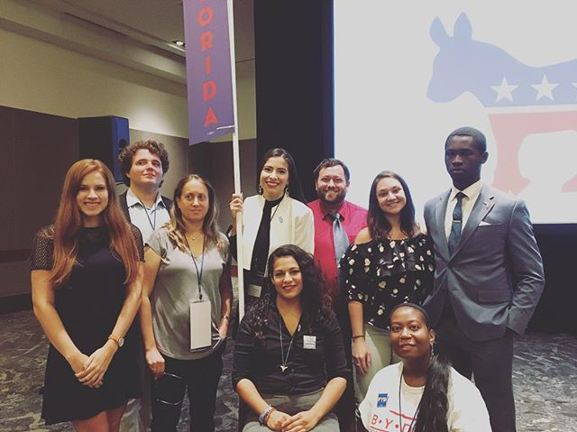 We are excited to have our members at Young Democrats of America this year! We're fired up and ready to go #ydadal #fydatyda #yda #fyd #flyoungdems #democraticparty #democrats