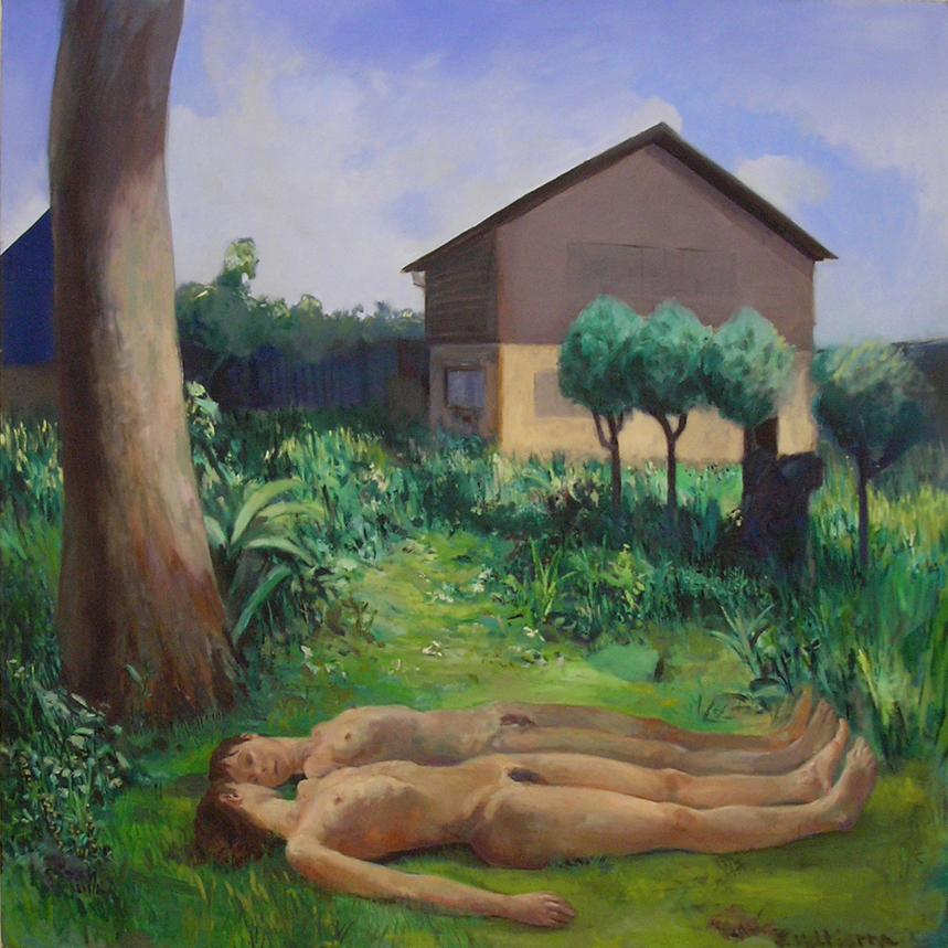 """""""Park House""""2006   Oil on canvas"""