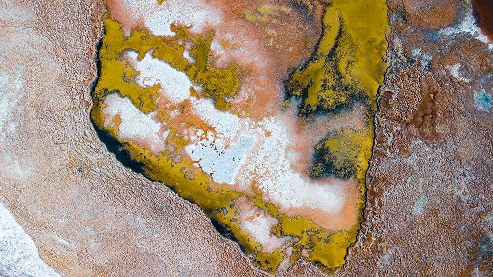Salt Lake. Atacama Desert, Chile