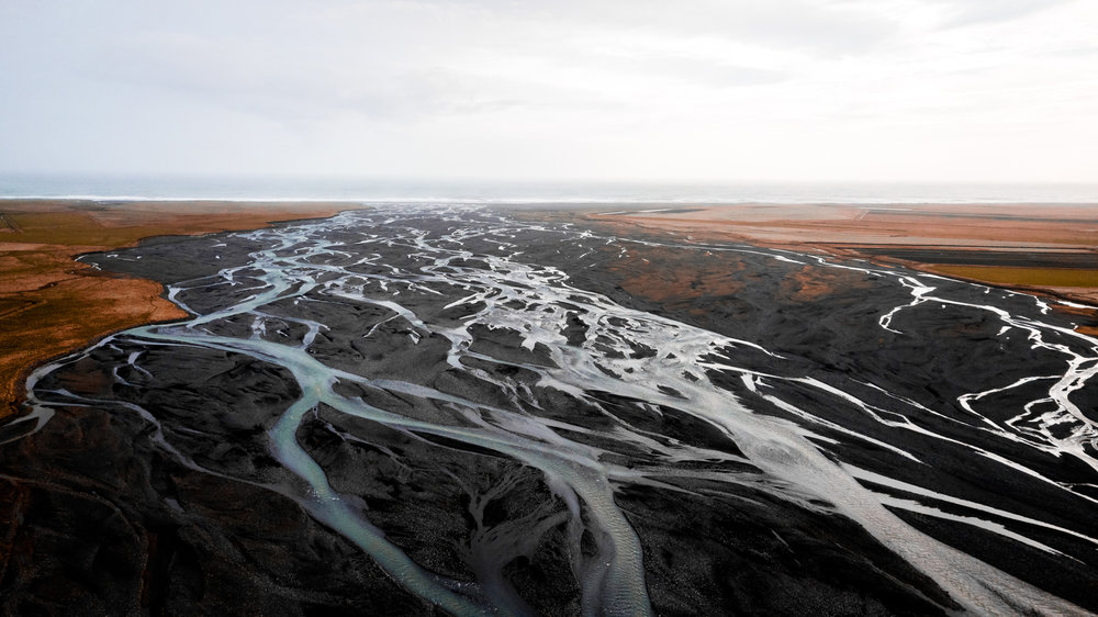 Glacial Rivers, Iceland