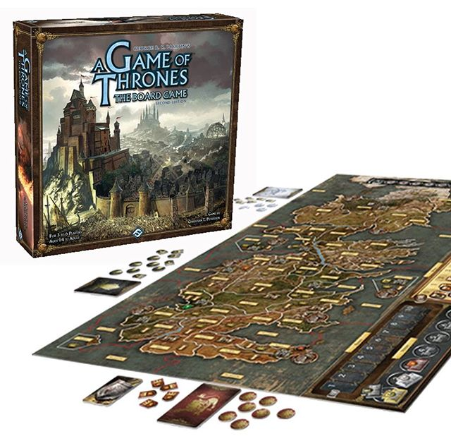 Join us this Tuesday 3/19 at 5pm. We will have a guest host holding learn to play for #gameofthrones  #boardgame #got #ffg  King Robert Baratheon is dead, and the lands of Westeros brace for battle.  A Game of Thrones: The Board Game Second Edition 3-6 players