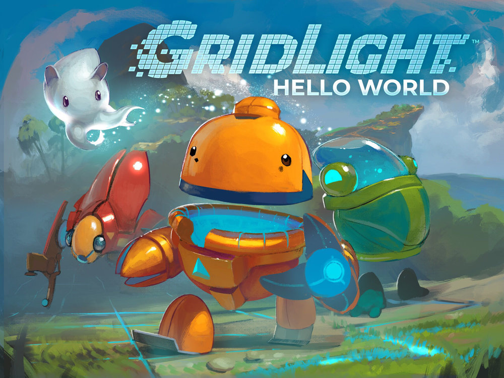 - GridLight: Hello World is a small slice of the full GridLight game that is currently in early development.The Bot School team built this hour-long, self-led game activity to support the 2018 Hour of Code, and to get early feedback.Hello World incorporates computer science principles.