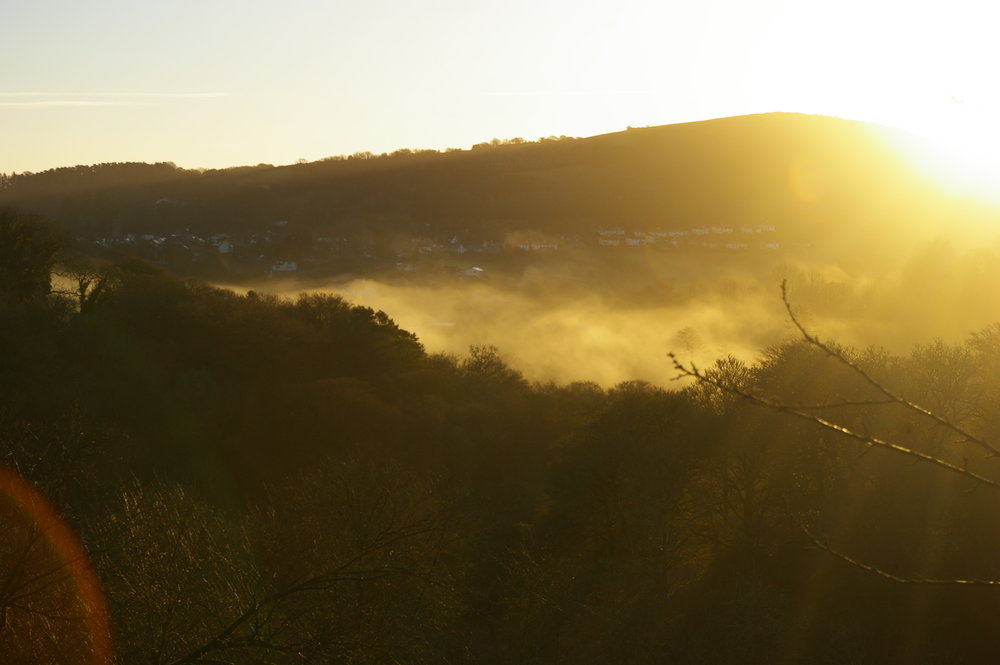 Mist over Chagford