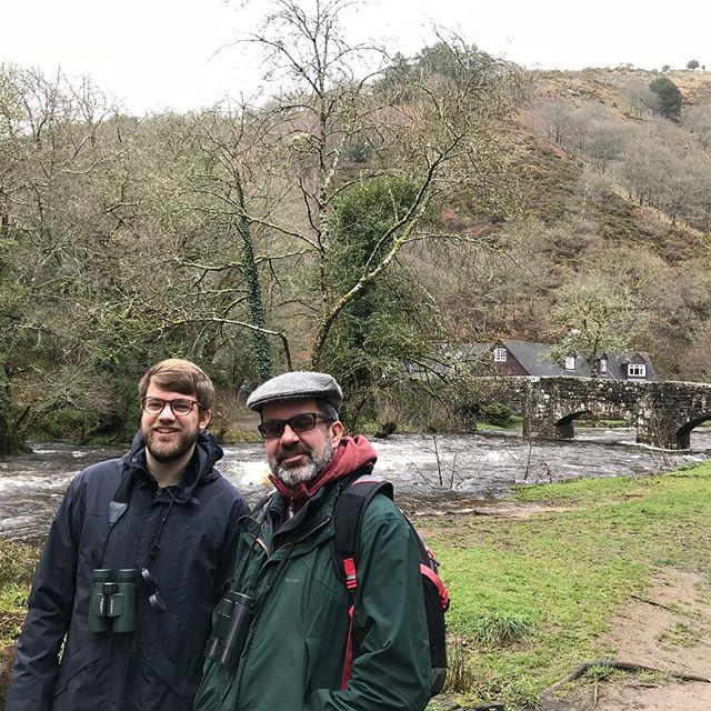 Lovely walk this morning- starting & ending at Fingle Bridge #dartmoor