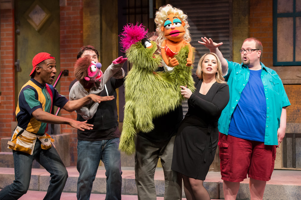 AVENUE Q - july 15 - nov 15A gut-bustlingly hilarious modern musical focusing on a group of unique 20-somethings making their way in the big city, seeking their purpose in life.