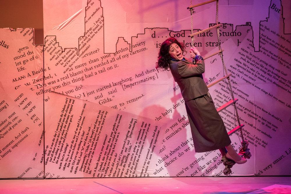 Bunny Bunny, Gilda Radner - Dana Tretta as Gilda Radner - (Photos by Brett A. Beiner).jpg