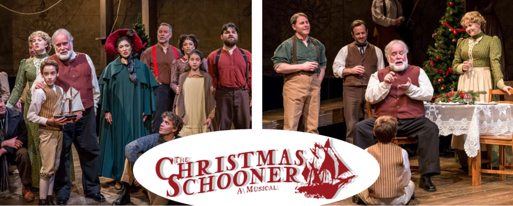 THE CHRISTMAS SCHOONER - COMING SOON - DATES TBA Mercury main stageTHE CHRISTMAS SCHOONER sails again at the Mercury! The whole family will enjoy this heart-warming story of the first Christmas tree ship and the family who risked their lives to fill Chicago with the Christmas spirit. The production features a powerful, moving story, an exquisite score of original music and traditional holiday favorites. LEARN MORE >>