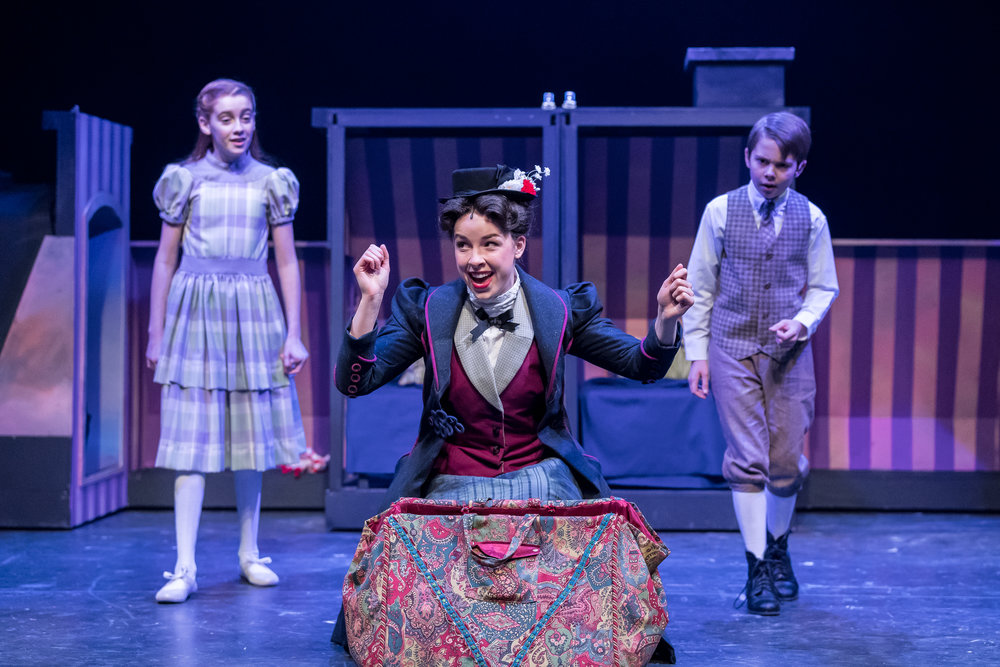 Mercury Theater, Mary Poppins - Pearle Bramlett (Jane), Nicole Armold (Mary Poppins), Casey Lyons (Michael) - Brett A. Beiner.jpg