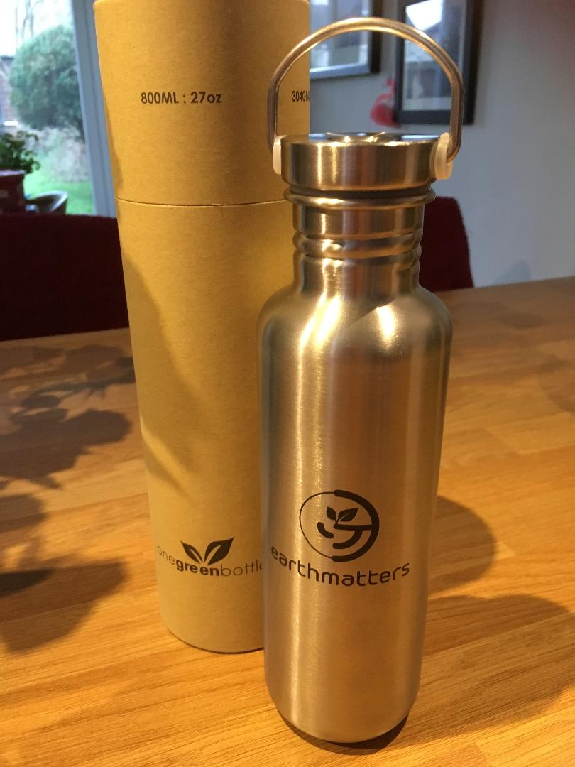 #PlasticFree - It's an easy step to invest in an alternative to damaging single-use plastic water bottles