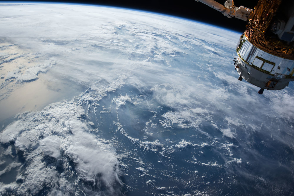 Our home, seen from space: it's the only one we've got and its resources are finite. It's time for new thinking about how we manage our relationship with the planet