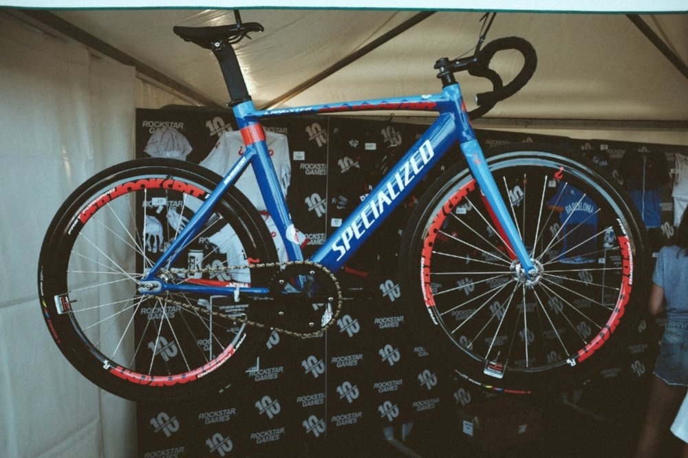specialized langster trophy bike.