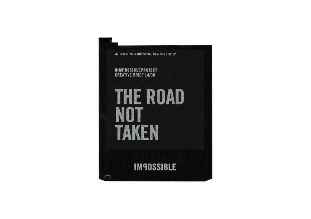 the road not taken polaroid turó cycling