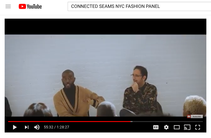 CONNECTED SEAMS NYFW PANEL