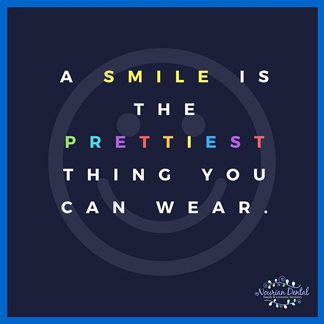 A SMILE can highly and positively impact a person no matter what circumstances he or she is in. Keep smiling 😊 😃 😀 #smile #nouriandental