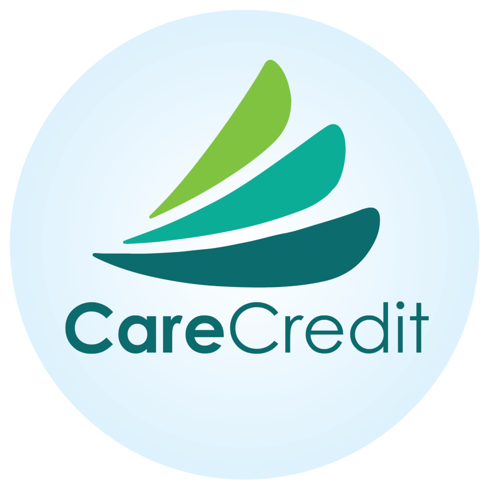 CARECREDIT - DENTAL, VISION, MEDICAL, and VETERINARIAN.It helps you pay for out-of-pocket expenses not covered by medical insurance by extending financing options that you can't get when using your Visa or MasterCard. We offer a 6-months payment plan with no interest and a 12, 24, 36, 48, or 60-months with fixed interested.