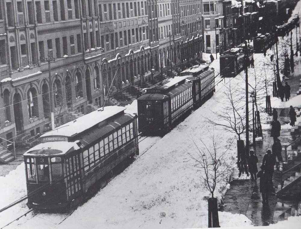 Image Credit: Peal Museum Collection, Linden Avenue Line, 1922
