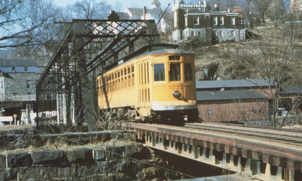 Image Credit: BSM Archive, Ellicott City Bridge, 1955