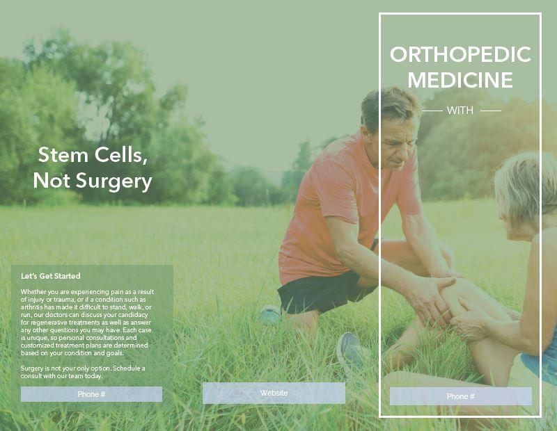 Orthopedic Brochure - Customizable