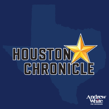 "Houston Chronicle    ""Democrats need to choose the candidate who, quite simply, will appeal to the most voters in a contest against Abbott. We believe that candidate is Andrew White.       Read More"
