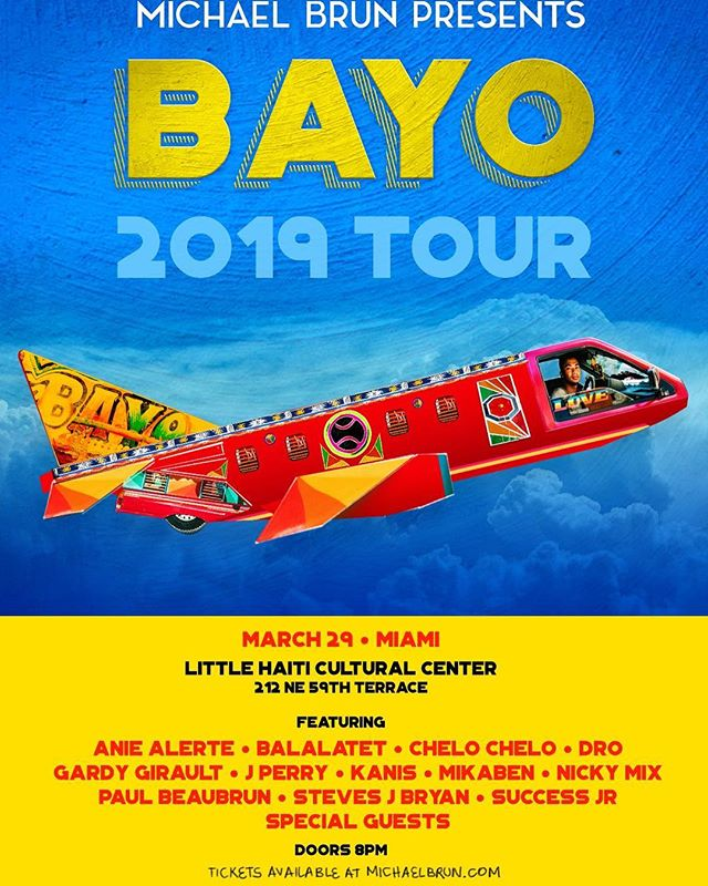 BAYO in MIAMI on March 29th! Are you ready for this? 🙏🏿🙏🏿🔥 #Bayo #rasanbleman