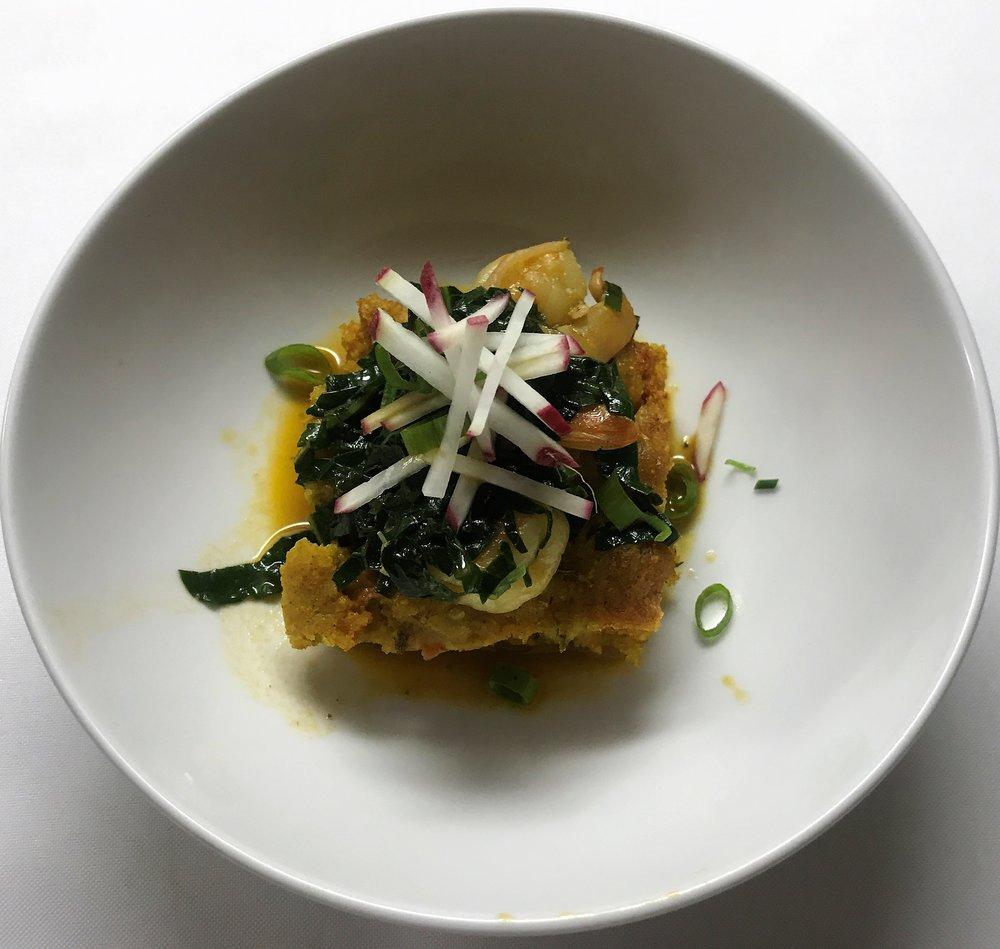 savory zucchini bread, chipotle shrimp.JPG