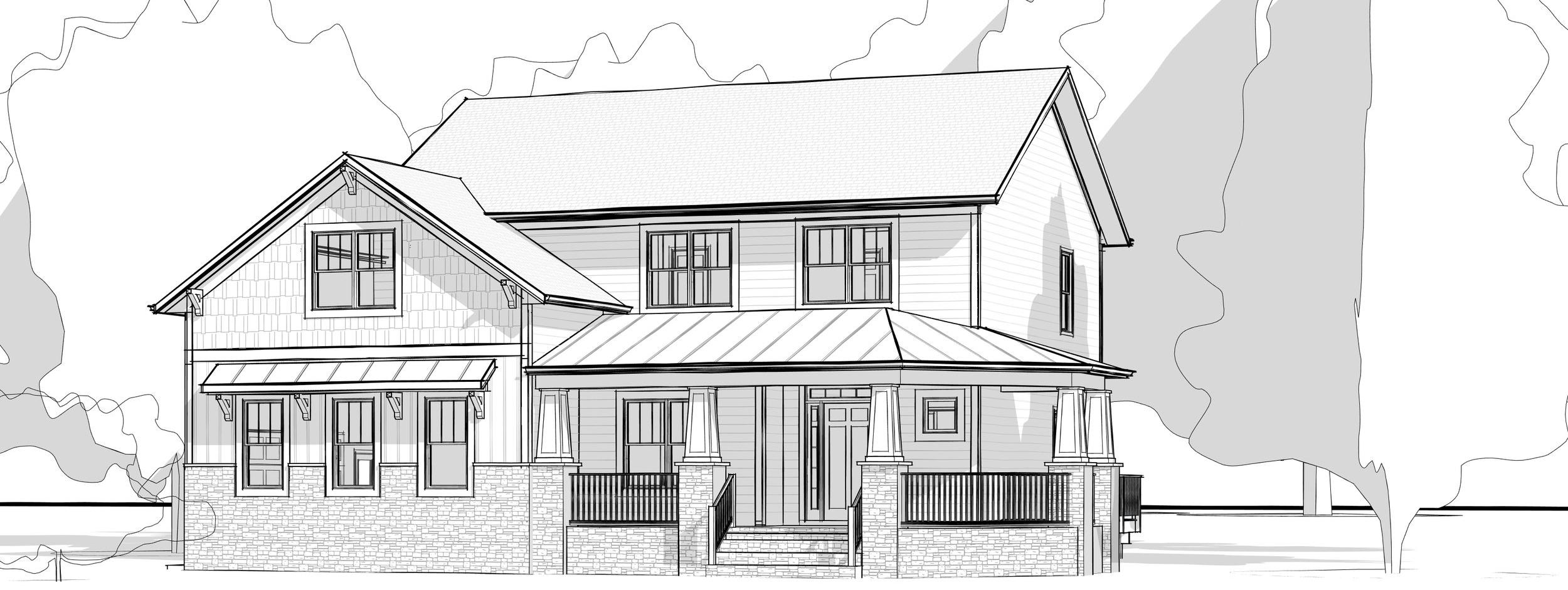 First Draft Custom Home Design
