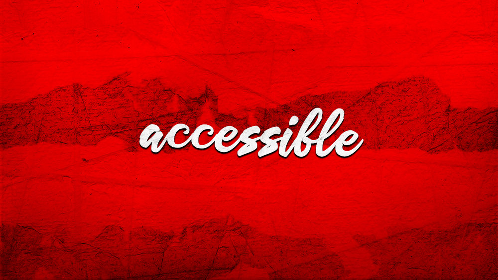 Week 2: Accessible