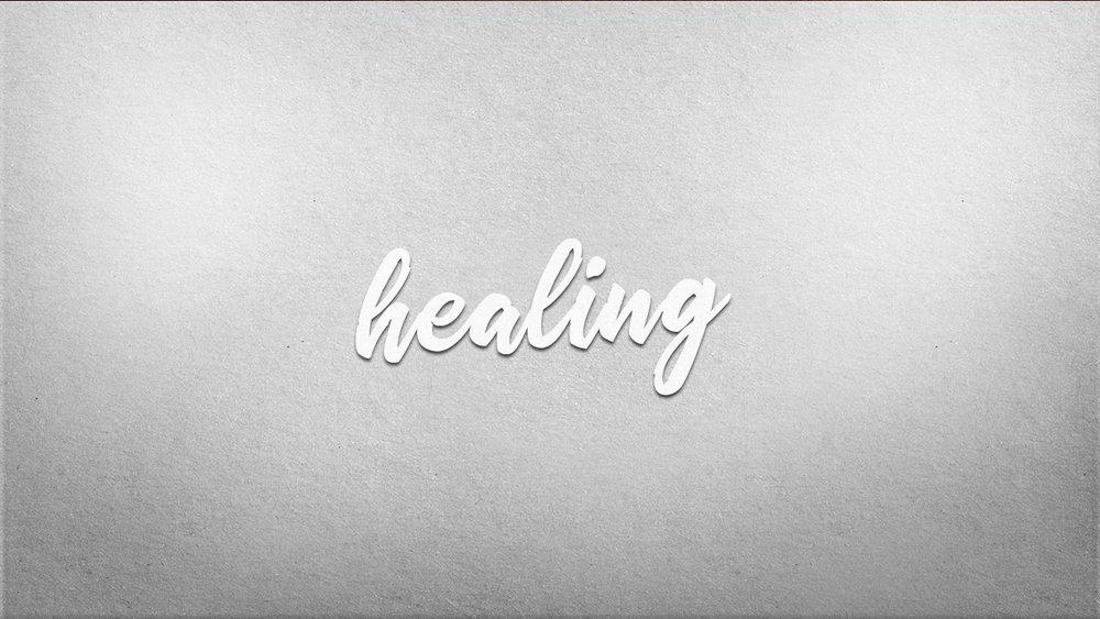 Week 7: Healing