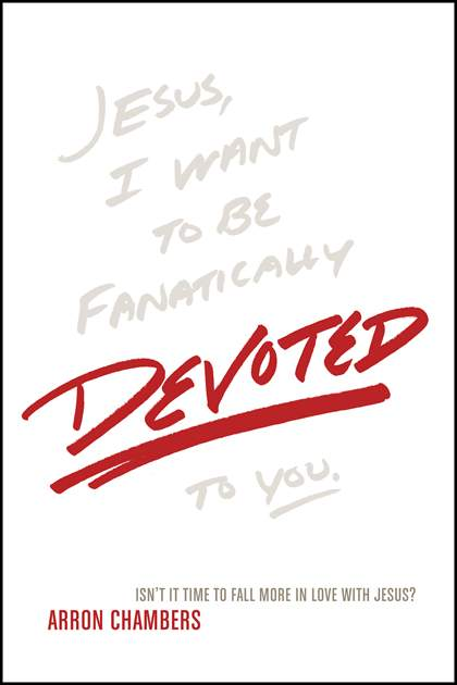 "Devoted by Arron Chambers - Being a disciple of Jesus is an issue of devotion rather than duty. Before Peter began the most important act of his life—discipleship—Jesus didn't ask him, ""How many chapters of the Torah did you read today?"" or ""Are you attending services at the synagogue each week?"" or ""Did you give your tithe today?"" No, before Peter began his journey of discipleship, Jesus asked him, ""Do you love Me?"" Arron Chambers thinks that we are asking new disciples of Christ the wrong questions and that it's time to start truly following the example of Christ by asking of disciples what Christ asked of Peter: devotion, not duty. In Devoted, Arron presents a new paradigm for discipleship: falling in love with Jesus. This approach to discipleship emphasizes passion for Jesus as opposed to a plan for following Jesus."