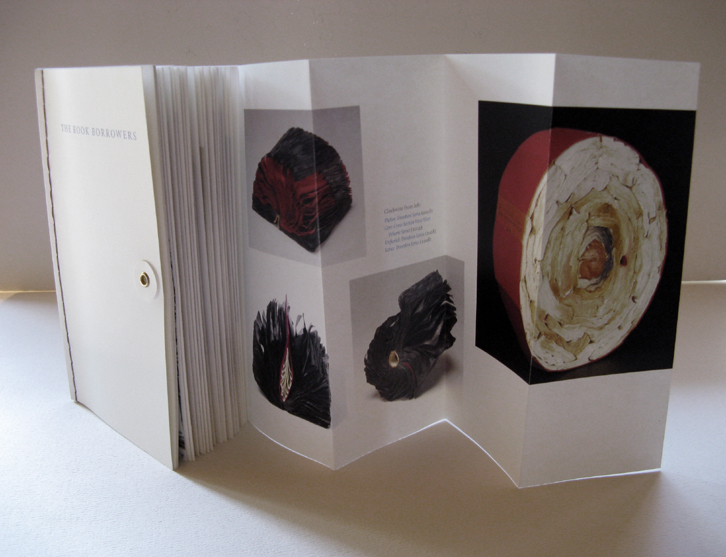 THE BOOK BORROWERS     Book Catalogue. Curated by Nora Atkinson, Bellevue Arts Museum, WA, 2009