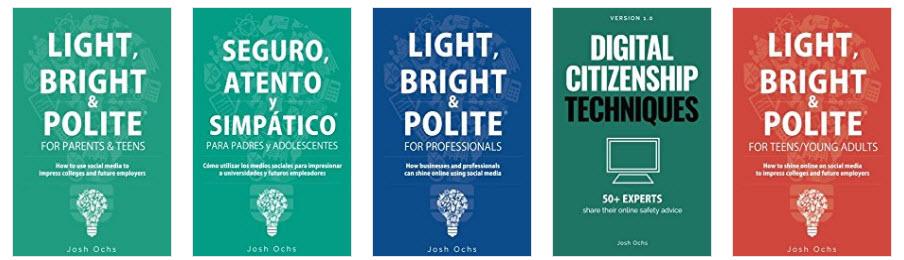 Josh Ochs Five Books on Amazon.jpg
