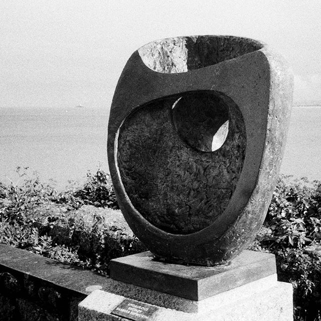 """The barbaric and magical countryside of rocky hills, fertile valleys, and dynamic coastline of West Penwith has provided me with a background and a soil … Moreover it has supplied me with one of my greatest needs for carving: a strong sunlight and a radiance from the sea which almost surrounds this spit of land."" Barbara Hepworth, Epidauros II 