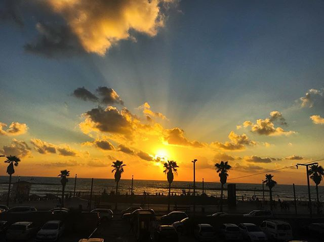 #tlv #sunset