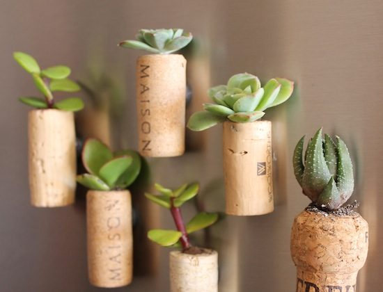 For more wine cork magnet ideas click  here.