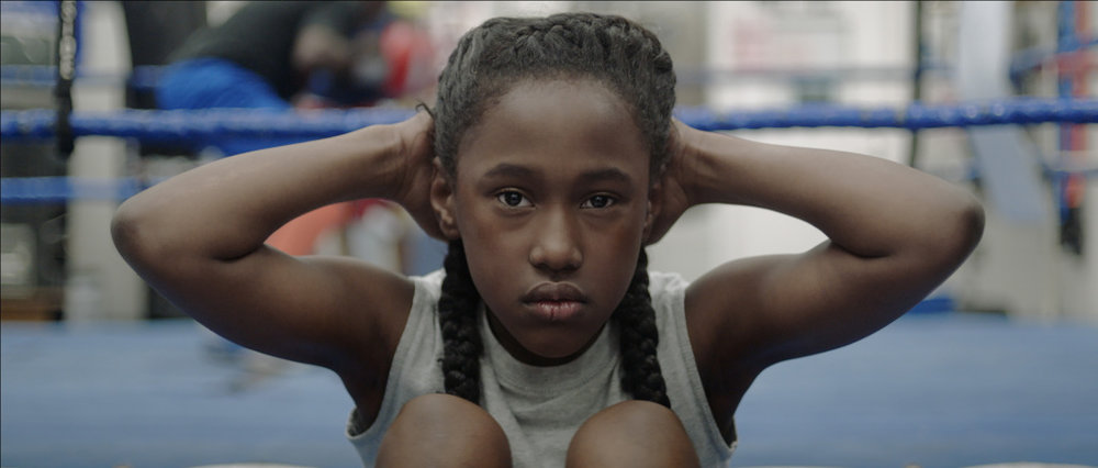 "Royalty Hightower as Toni in ""The Fits.""  Oscilloscope Laboratories"