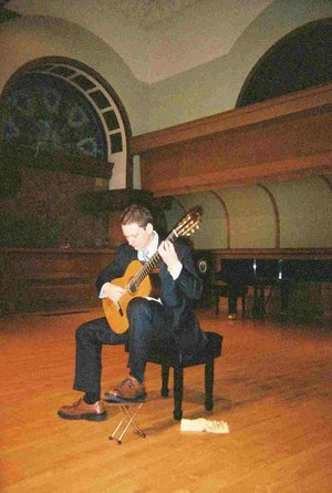 Brad Conroy Master's Recital