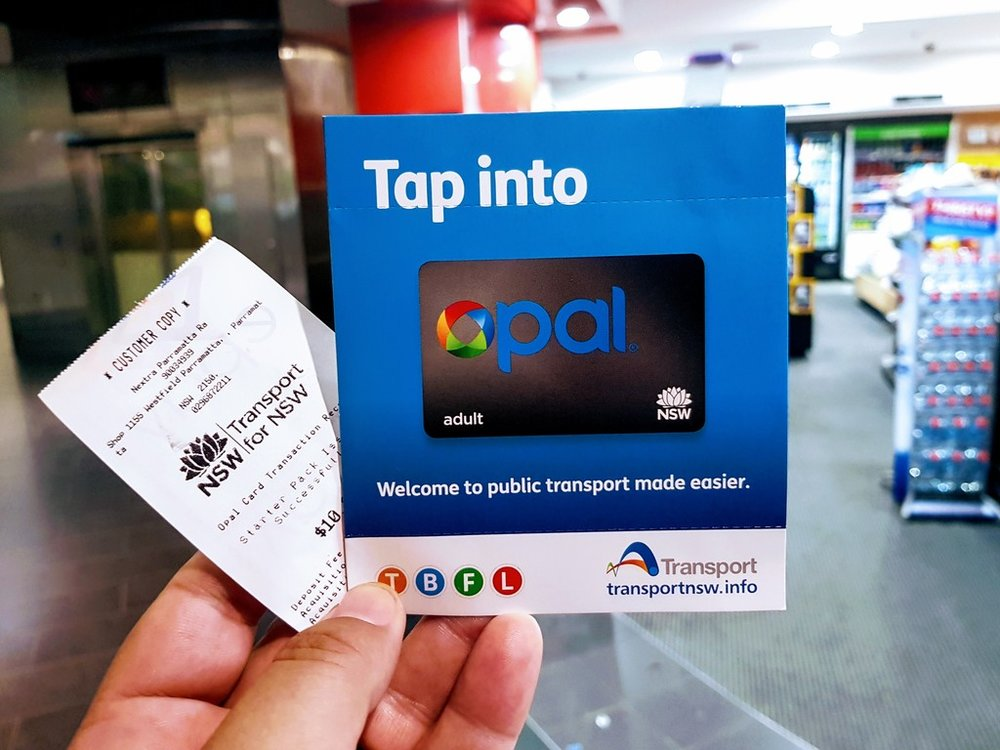 To catch trains, buses, ferries and light rail in Sydney and surrounding areas you will need an  Opal card or Opal single ticket .