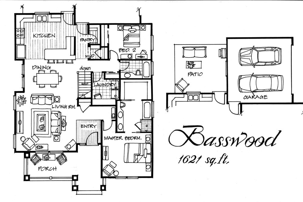 Basewood 2 bed / 2 bath