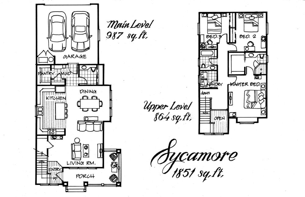 Sycamore 3 Bed 2.5 Bath