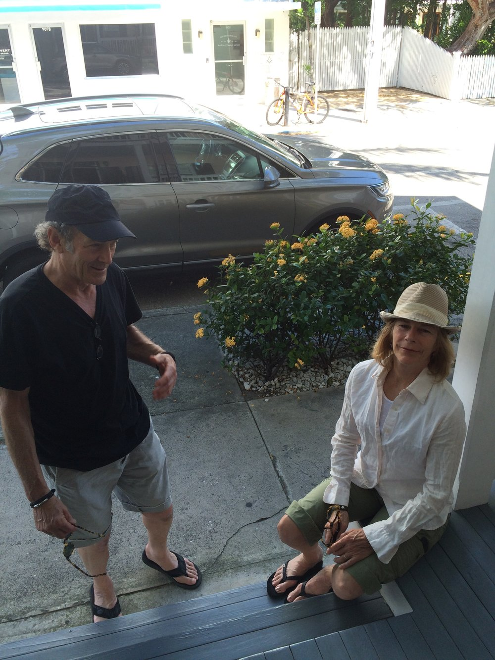 Jim and Jane with us in Key West, 2017