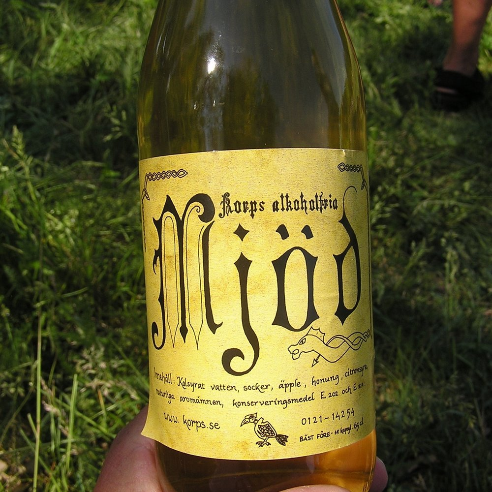 Mead Bottle