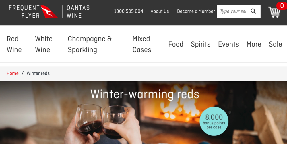 Leah Flores for Qantas Wine