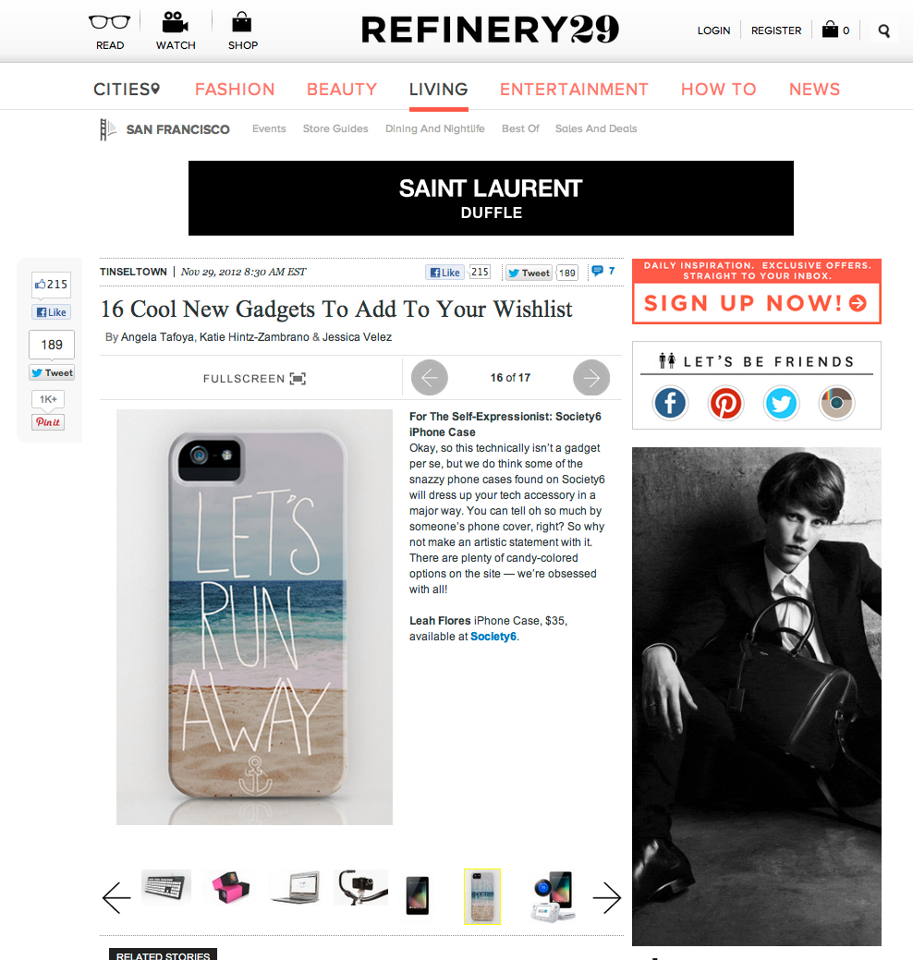 Leah Flores Phone Case Design Featured by Refinery29