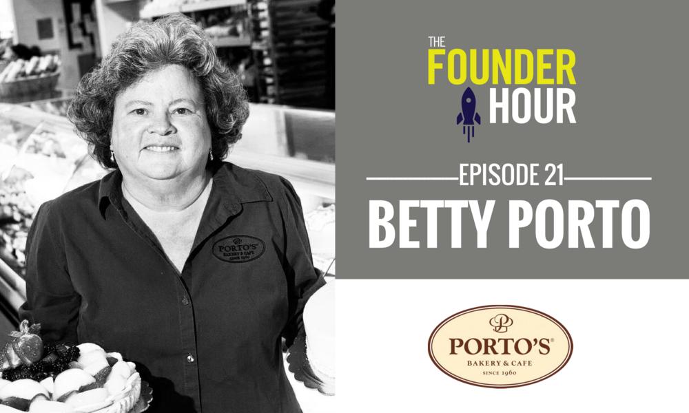 Betty Porto Portos Bakery and Cafe The Founder Hour