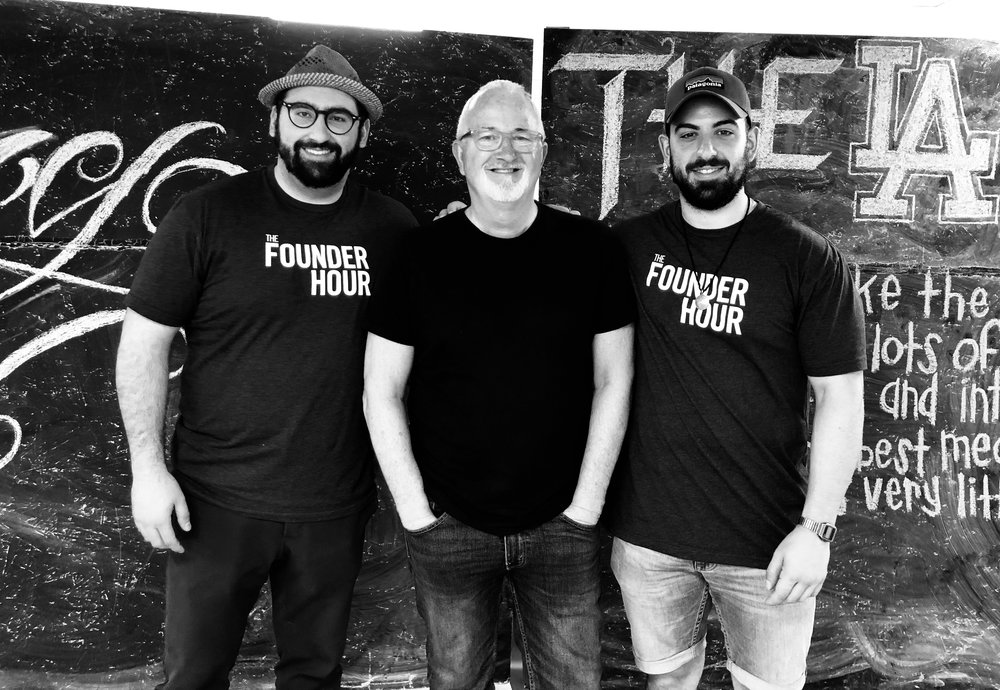 Robert Egger, LA Kitchen, DC Central Kitchen, The Founder Hour, Podcast