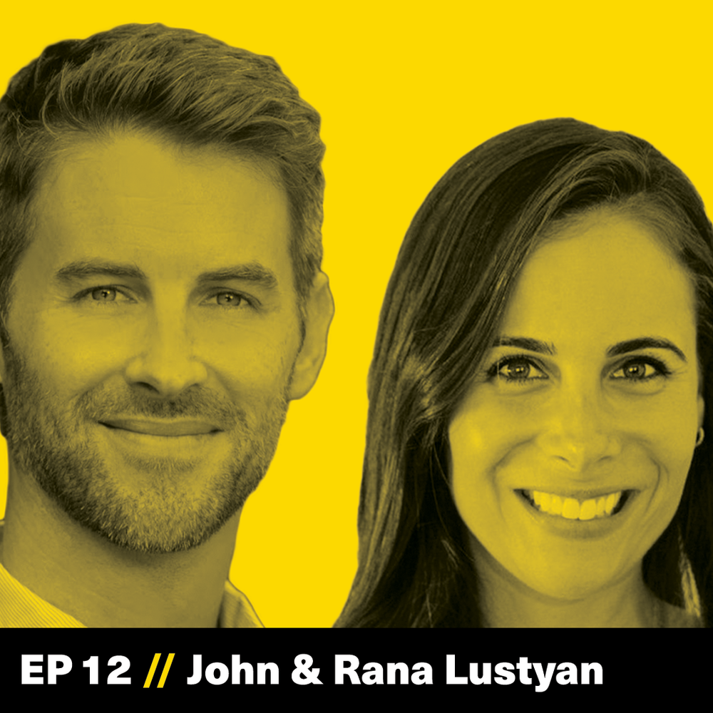 John Lustyan, Rana Lustyan, Edoughble, The Founder Hour, Podcast