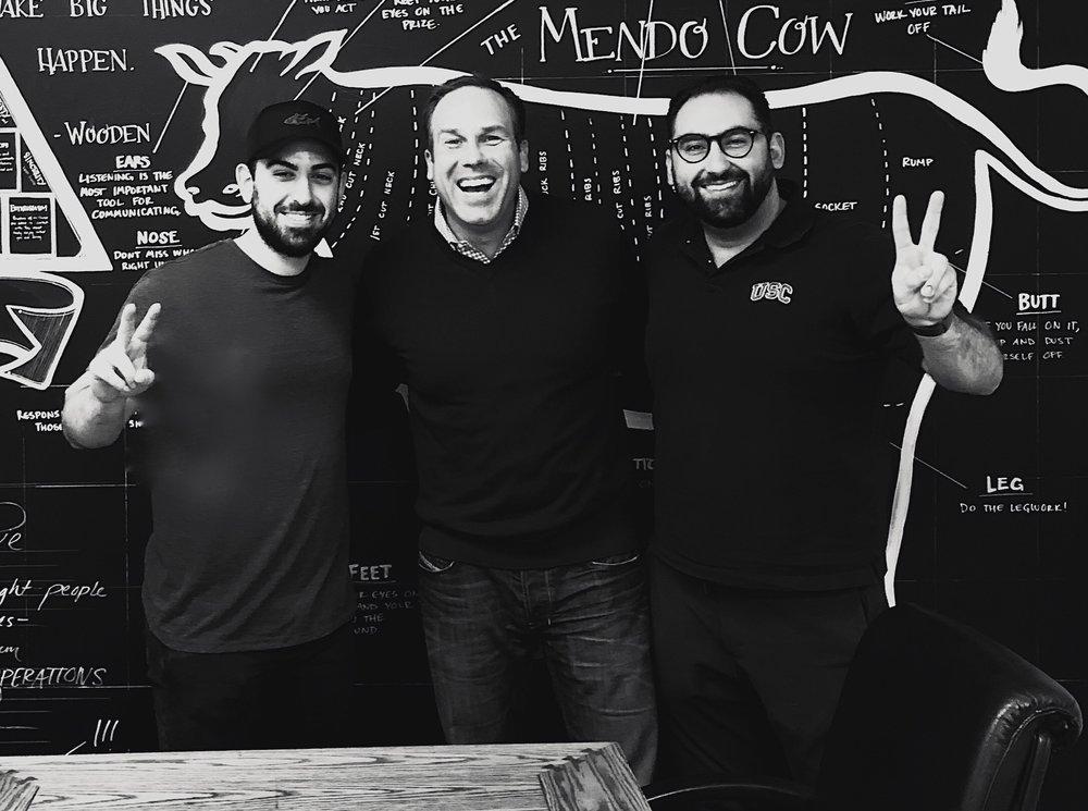 Mario Del Pero, Mendocino Farms, The Founder Hour, Podcast, Pat and Posh