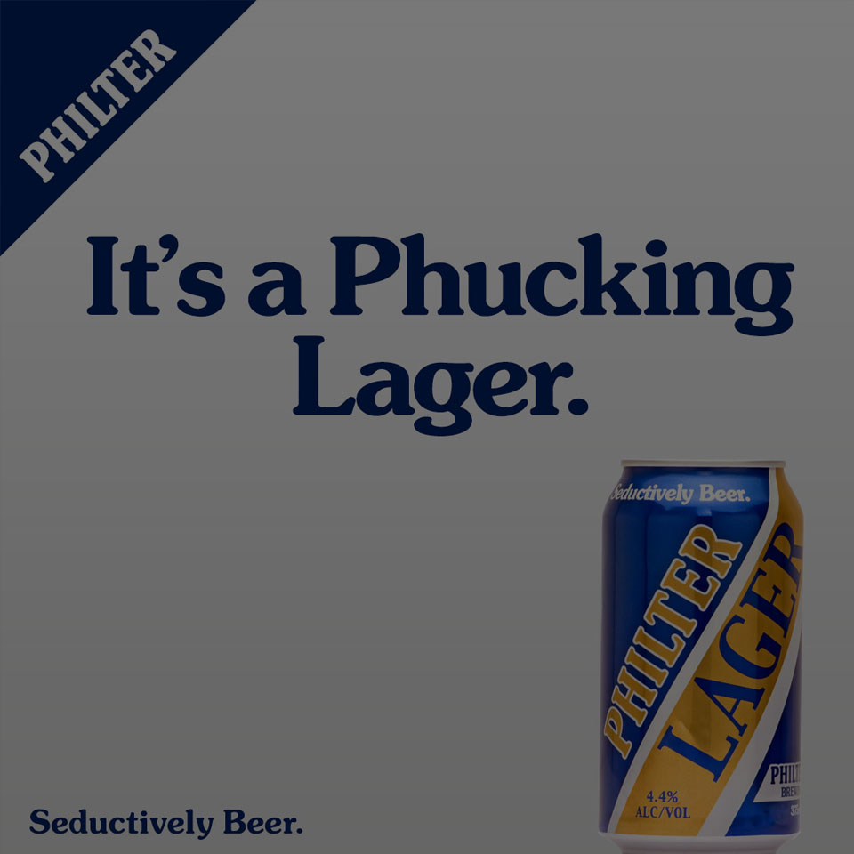 Philter Introduces It's Fresh Take On The Classic Aussie Lager. - 15/12/2017