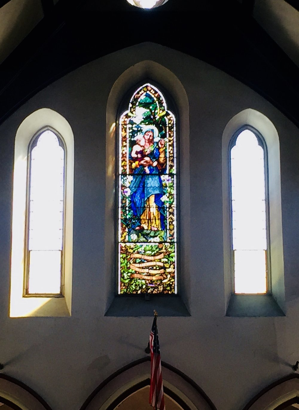 The church's Black Madonna window was restored as part of our capital campaign. A Rededication of this Sarah Otis Ernst Memorial Window was held in the Spring of 2017.